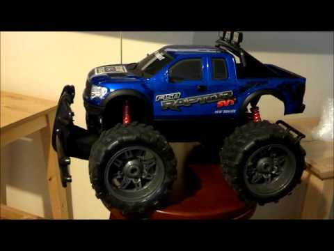 New Bright Ford F150 Raptor RC Truck Review