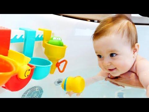 Бьянка и развивающие игрушки для ванной. Премьера на Фейсбук!