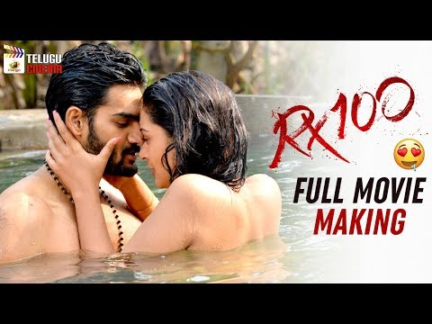 RX 100 FULL MOVIE Making   Kartikeya   Payal Rajput   Rao Ramesh   #RX100   Mango Telugu Cinema