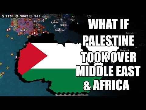 What if Palestine took over Middle East & Africa??