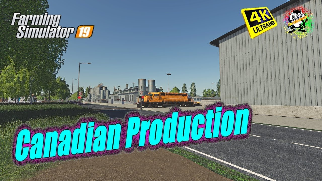 Fs19 Maps | Canadian Production Map | in 4K Resolution