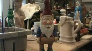 Painting A Carved Gnome