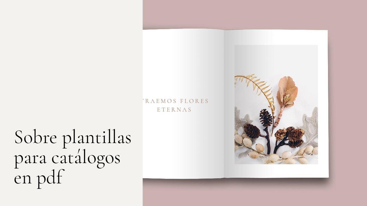 Plantillas para catálogos en pdf - YouTube