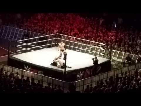 Sheamus vs Finn balor in Dublin 2015 wwe