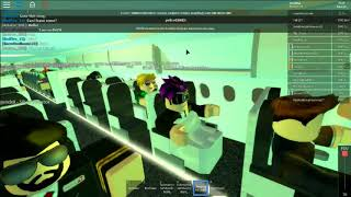 Roblox| Swiss Airlines| [LATE FLIGHT]#1