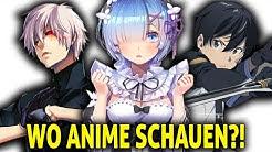 Wo kann ich Anime KOSTENLOS auf DEUTSCH Legal schauen?