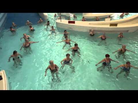 Cvičení v bazénu - Šutka