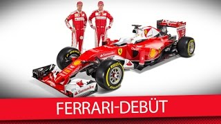 Ferrari Test-Debüt in Barcelona - MSM TV: Formel 1