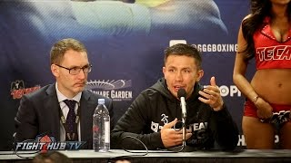 Golovkin vs. Jacobs - THE FULL GENNADY GOLOVKIN POST FIGHT PRESS CONFERENCE VIDEO