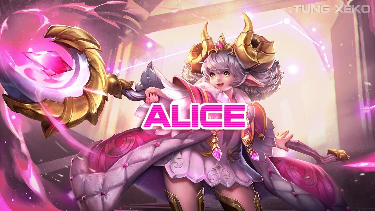 Hướng dẫn chơi Alice - Tiểu Thần Thiện Lương - Liên Quân Mobile - Realm of Valor