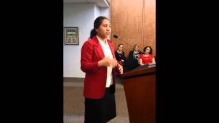 Emily Mose-Tuialii - Horowhenua College - Poetry Item 'The Gap'