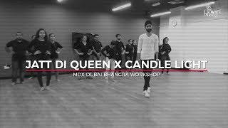 Jatt Di Queen X Candle Light  | Bhangra Workshop At MDX | Pure Bhangra |