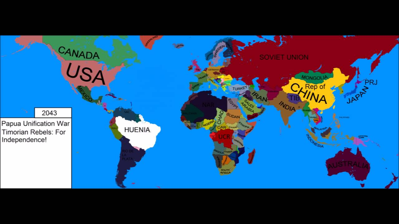 Alternate Future Of The World Episode 5 The War Of Southeast Asia