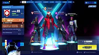 FORTNITE LIVE STREAM: FREE V-BUCKS GIVEAWAY at 500 subs!!!! Arena GAMEPLAY
