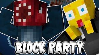 RAGE PARTY! - Minecraft Block Party! W/AshDubh