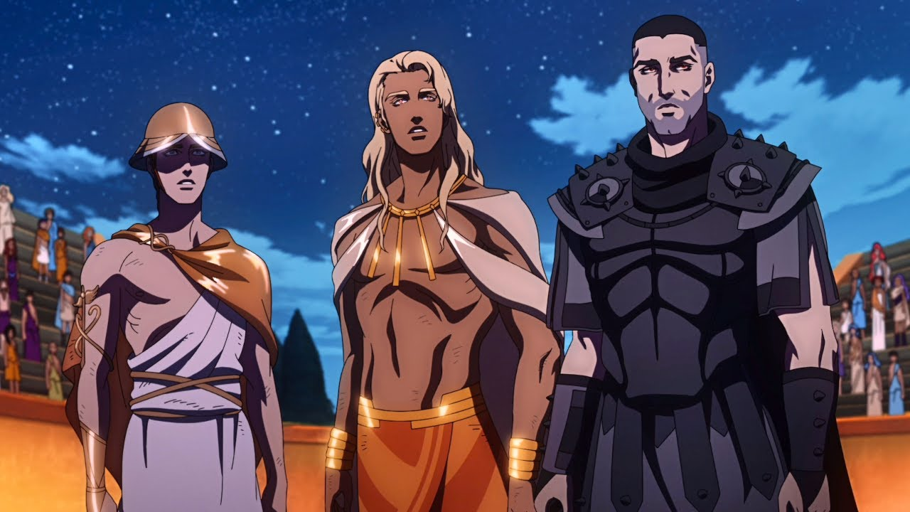 Download Blood of Zeus | Ares vs. Apollo and Hermes