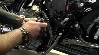 Kuryakyn Garage: Harley Davidson Mid-frame Covers And Swing Arm Accent Install