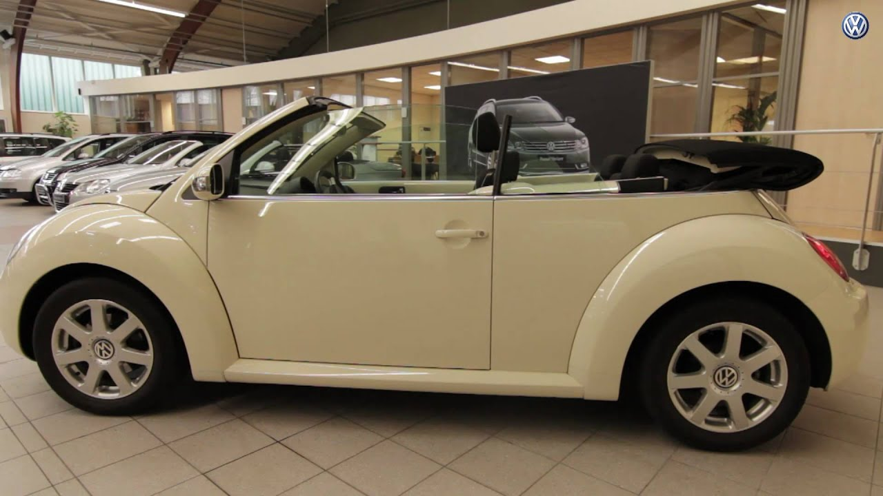 volkswagen maas biedt occasion te koop aan volkswagen new beetle cabriolet youtube. Black Bedroom Furniture Sets. Home Design Ideas