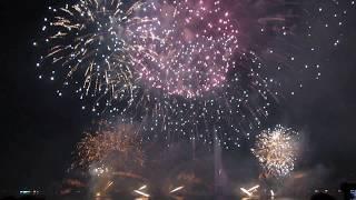 Grand feux d'artifice du Pont du Mont-Blanc - 22:13