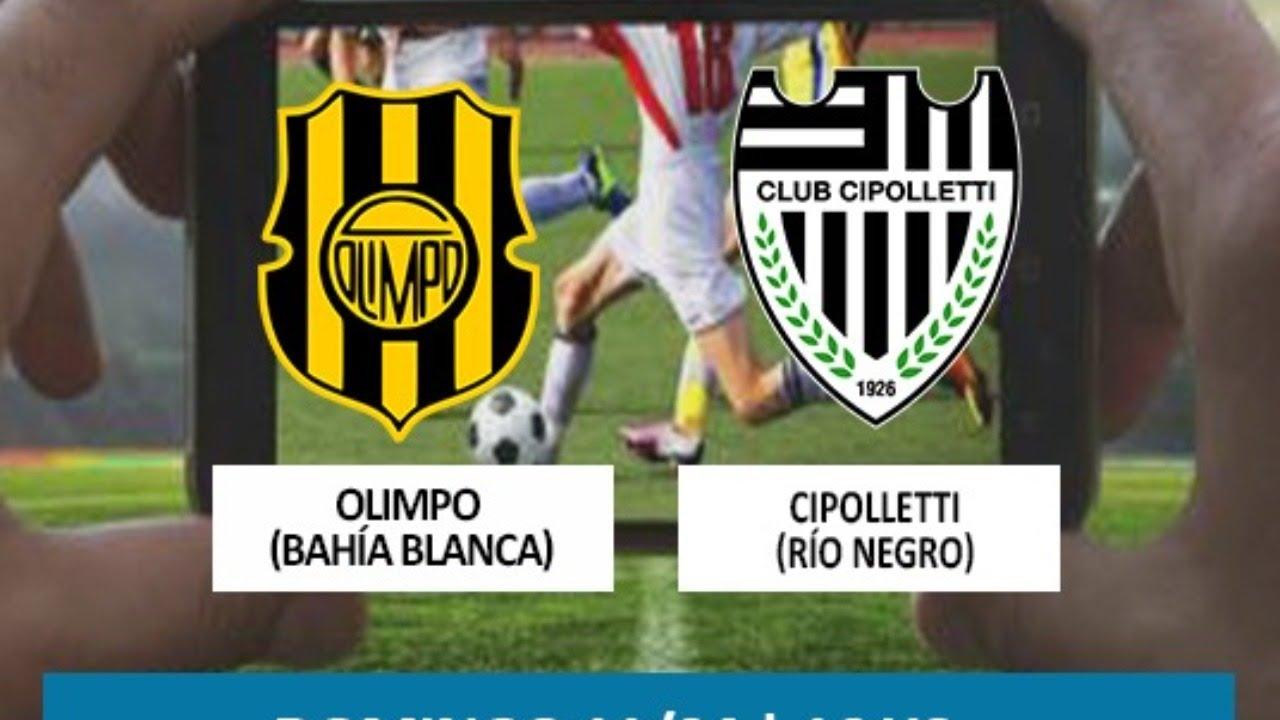 OLIMPO (Bahía Blanca)  - CIPOLLETTI (Río Negro) | Torneo Federal A | Zona Sur - Fecha 1