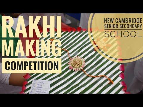 Rakhi making competition in school (2019-20)