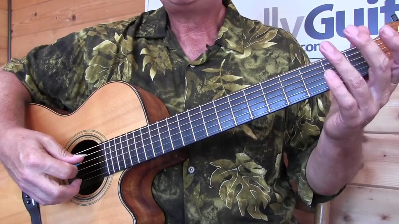 Song Sung Blue By Neil Diamond Totally Guitars Lesson Preview