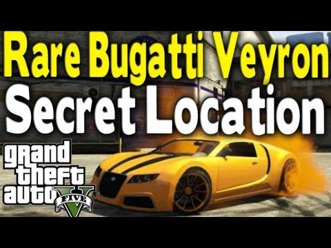 GTA 5 - RARE BUGATTI VEYRON (ADDER) LOCATION (Rare Car Guide #2) [GTA V]