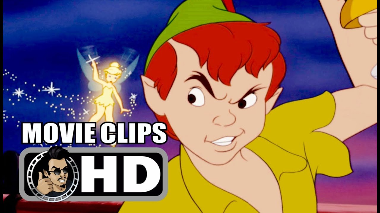 Peter Pan 4 Movie Clips Featurettes Trailer 1953 Disney Animated Classic Movie Hd Youtube