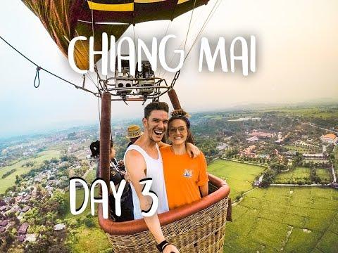 CHIANG MAI HOT AIR BALLOON | THAILAND VLOG DAY 3