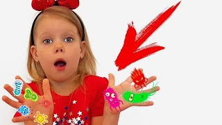 Fairy tales Vitalina and Megadesha! How not to behave children! Pretend Play for kids!