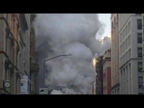 شاهد:انفجار أنبوب للبخار في مانهاتن  - نشر قبل 2 ساعة