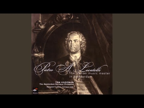 Concerto Op. 4 No. 9 (1735) : Largo