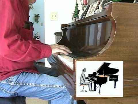 Corkey at the piano at 72 ----  Song ( I Could Write A Book ) 12-17-2007