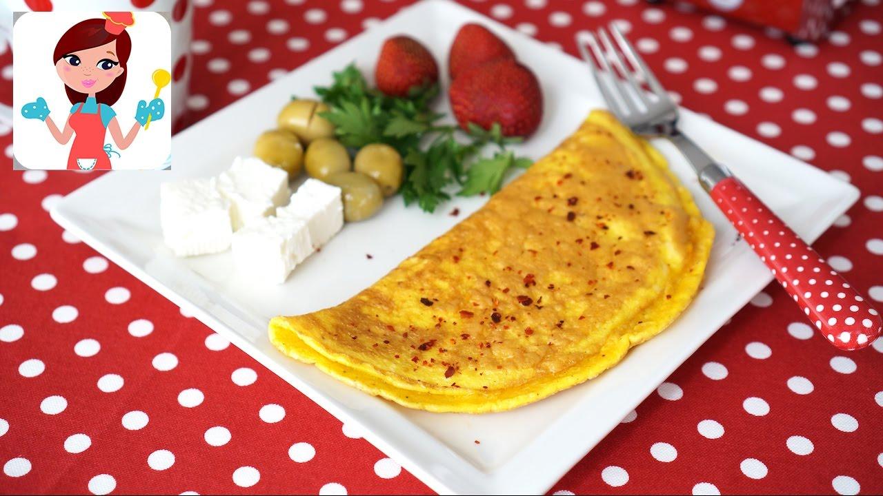 Lezzetli omletin püf noktası
