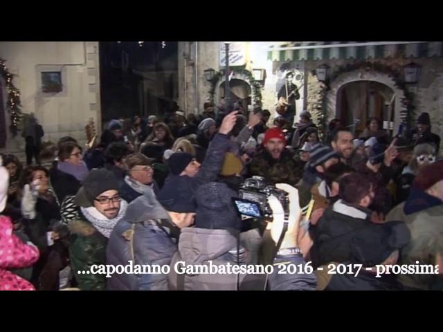 Gambatesa Capodanno 2016-2017