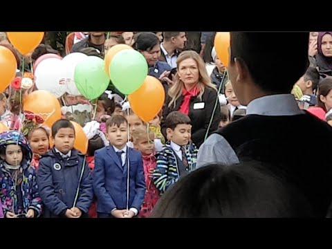 VLOG Желания детей первый день в школе первый класс  считает тихий школа 149 смотрите описание