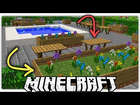 Minecraft   5 Special Ways to Make a Beautiful Park / Garden