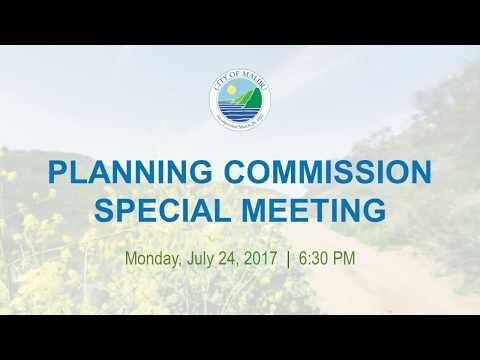 Malibu Planning Commission Meeting July 24, 2017