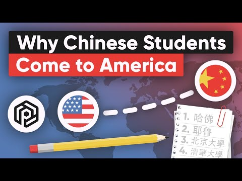 Why So Many Chinese Students Come to America