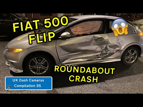 UK Dash Cameras - Compilation 35 - 2020 Bad Drivers, Crashes + Close Calls