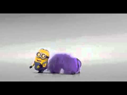 purple minion gone mad - YouTube