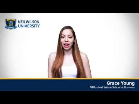 Grace Young - An MBA Student at The Neil Wilson School of Business