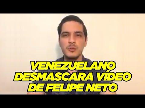 "[Vídeo] YouTuber venezuelano detona Felipe Neto: ""Preferimos mil vez um Bolsonaro"""
