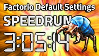 "Factorio ""Default Settings"" Speedrun in 3:05:14 by AntiElitz [0.17 World Record]"
