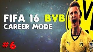 FIFA 16 | BVB CAREER MODE | #6 ШОКИРАЩООО!