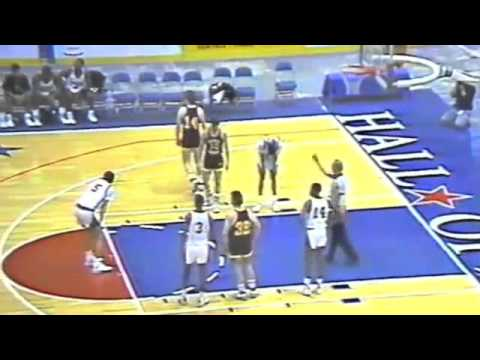 Travis Best -Central vs Chicopee High 1989