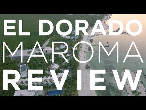 Review of the beach at El Dorado Maroma