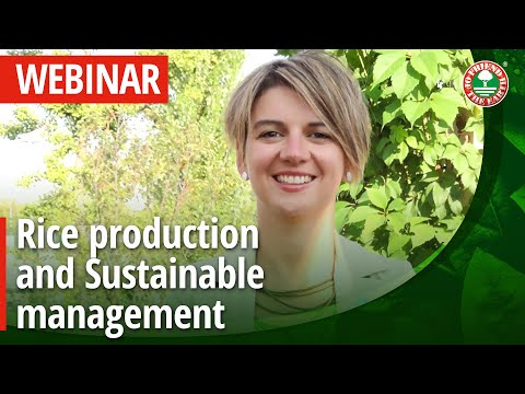 [ Webinar ] Rice Production And Sustainable Management Of The Agro-ecosystem