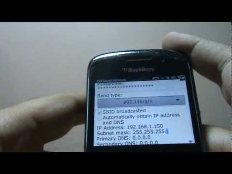 How to configure IP Address on your Blackberry Mobile