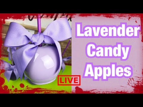 How To Achieve Lavender Candy Apples